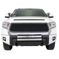 Paramount Automotive - Black Evolution Stainless Steel Wire Mesh Cutout Grille #46-0760 - Image 3