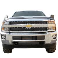 Paramount Automotive - Black Evolution Stainless Steel Wire Mesh Cutout Grille #46-0763 - Image 2
