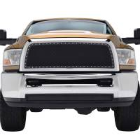 Paramount Automotive - Black Evolution Stainless Steel Wire Mesh Cutout Grille #46-0766 - Image 2