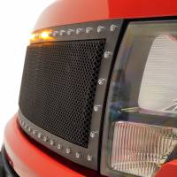 Paramount Automotive - Black Evolution Stainless Steel Wire Mesh Cutout Grille #46-0767 - Image 4