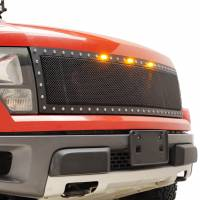Paramount Automotive - Black Evolution Stainless Steel Wire Mesh Cutout Grille #46-0767 - Image 5