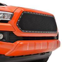 Paramount Automotive - Black Evolution Stainless Steel Wire Mesh Cutout Grille #46-0781 - Image 3