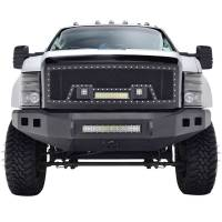 Paramount Automotive - Black Evolution Stainless Steel Wire Mesh Packaged Grille w/ LED #48-0803 - Image 3