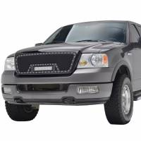 Paramount Automotive - Black Evolution Stainless Steel Wire Mesh Packaged Grille w/ LED #48-0807 - Image 1