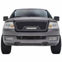 Paramount Automotive - Black Evolution Stainless Steel Wire Mesh Packaged Grille w/ LED #48-0807 - Image 3