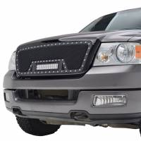 Paramount Automotive - Black Evolution Stainless Steel Wire Mesh Packaged Grille w/ LED #48-0807 - Image 4