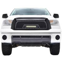 Paramount Automotive - Black Evolution Stainless Steel Wire Mesh Packaged Grille w/ LED #48-0817 - Image 3