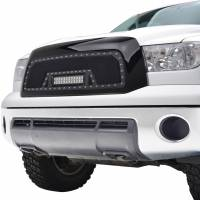 Paramount Automotive - Black Evolution Stainless Steel Wire Mesh Packaged Grille w/ LED #48-0817 - Image 4