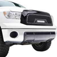 Paramount Automotive - Black Evolution Stainless Steel Wire Mesh Packaged Grille w/ LED #48-0817 - Image 5