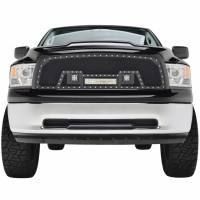 Paramount Automotive - Black Evolution Stainless Steel Wire Mesh Packaged Grille w/ LED #48-0829 - Image 3