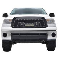 Paramount Automotive - Black Evolution Stainless Steel Wire Mesh Packaged Grille w/ LED #48-0836 - Image 3