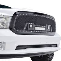 Paramount Automotive - Black Evolution Stainless Steel Wire Mesh Packaged Grille w/ LED #48-0847 - Image 5
