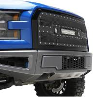 Paramount Automotive - Black Evolution Stainless Steel Wire Mesh Packaged Grille w/ LED #48-0850 - Image 5