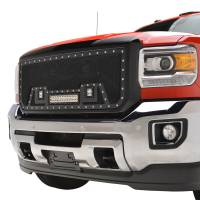 Paramount Automotive - Black Evolution Stainless Steel Wire Mesh Packaged Grille w/ LED #48-0852 - Image 4