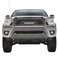 Paramount Automotive - Black Evolution Stainless Steel Wire Mesh Packaged Grille w/ LED #48-0855 - Image 3