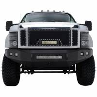 Paramount Automotive - Black Evolution Stainless Steel Wire Mesh Cutout Grille w/ LED #48-0903 - Image 3