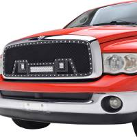 Paramount Automotive - Black Evolution Stainless Steel Wire Mesh Cutout Grille w/ LED #48-0919 - Image 3