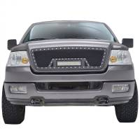 Paramount Automotive - Black Evolution Stainless Steel Wire Mesh Cutout Grille w/ LED #48-0924 - Image 3