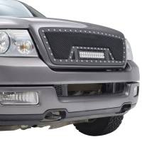 Paramount Automotive - Black Evolution Stainless Steel Wire Mesh Cutout Grille w/ LED #48-0924 - Image 5