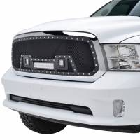 Paramount Automotive - Black Evolution Stainless Steel Wire Mesh Cutout Grille w/ LED #48-0960 - Image 4
