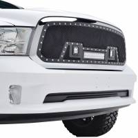 Paramount Automotive - Black Evolution Stainless Steel Wire Mesh Cutout Grille w/ LED #48-0960 - Image 5