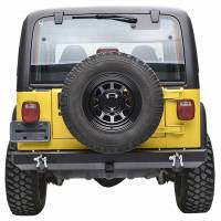 """Paramount Automotive - Classic Rear Bumper w/ D-Rings & 2"""" Inch Receiver Black #51-0008 - Image 3"""