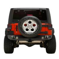 Paramount Automotive - Heavy Duty Rock Crawler Rear Bumper w/ LED #51-0310L - Image 3