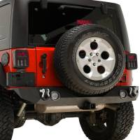 Paramount Automotive - Heavy Duty Rock Crawler Rear Bumper w/ LED #51-0310L - Image 5