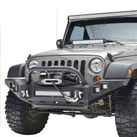 Paramount Automotive - Full-Width Front Bumper w/ LED #51-0370 - Image 4