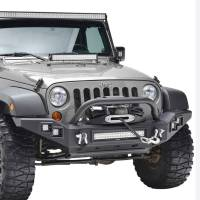 Paramount Automotive - Full-Width Front Bumper w/ LED #51-0370 - Image 5