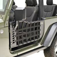 Paramount Automotive - 2 Door Matrix Tracker Doors with Mirror #51-0383 - Image 3