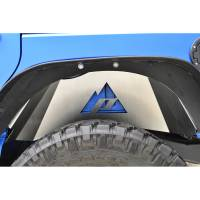 Paramount Automotive - Aluminum Rear Inner Fender Liner Kit #51-0686 - Image 2