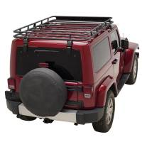 Paramount Automotive - (2 Door) Full Length Roof Rack #51-0688