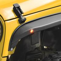 Paramount Automotive - R-5 Canyon Stubby Front Fender Flare with LED Lights #51-0712 - Image 5