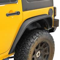 Paramount Automotive - R-5 Canyon Stubby Rear Fender Flare with LED Lights #51-0713 - Image 3