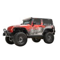 Paramount Automotive - (2 Door) R5 Canyon Offroad Rock Slider #51-0728 - Image 1