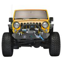 Paramount - R-5 Canyon Stubby Front Bumper with LED Lights and Light Frames #51-0743 - Image 2