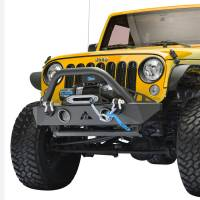Paramount - R-5 Canyon Stubby Front Bumper with LED Lights and Light Frames #51-0743 - Image 3