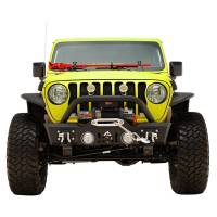 Paramount Automotive - Stubby Front Bumper with Color Light Frames for OE Fog Light #51-8014 - Image 3