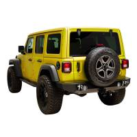 Paramount Automotive - X2 Full Width Rear Bumper with Two 12W LED Lights #51-8021L - Image 2