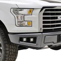 Paramount Automotive - Bumper Fog Light Mounting Double LED Bracket with 4x12w LED Lights #54-3024 - Image 2