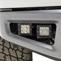 Paramount Automotive - Bumper Fog Light Mounting Double LED Bracket with 4x12w LED Lights #54-3024 - Image 4