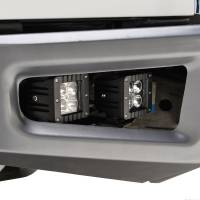 Paramount Automotive - Bumper Fog Light Mounting Double LED Bracket with 4x12w LED Lights #54-3024 - Image 5