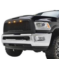 Paramount Automotive - ABS LED Matte Black Impulse Packaged Grille #41-0175MB - Image 2