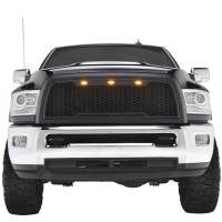 Paramount Automotive - ABS LED Matte Black Impulse Packaged Grille #41-0175MB - Image 4
