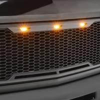 Paramount Automotive - ABS LED Matte Black Impulse Packaged Grille #41-0177MB - Image 5