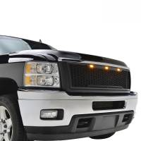 Paramount Automotive - ABS LED Matte Black Impulse Packaged Grille #41-0181MB - Image 2