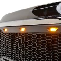 Paramount Automotive - ABS LED Matte Black Impulse Packaged Grille #41-0181MB - Image 3