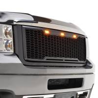 Paramount Automotive - ABS LED Matte Black Impulse Packaged Grille #41-0182MB - Image 2