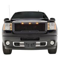 Paramount Automotive - ABS LED Matte Black Impulse Packaged Grille #41-0182MB - Image 3